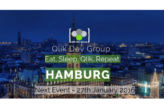 1. Qlik Developer Group Meeting in Hamburg am 27.01.2016
