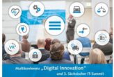 "Vortrag bei der Multikonferenz ""Digital Innovation"" am 24. August in Leipzig"