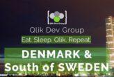 TIQ beim Qlik Dev Group Treffen in Lund mit Vortrag zu Predictive Analytics