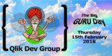 TIQ at the Qlik Dev Group Guru Day on 15th February 2018 in London