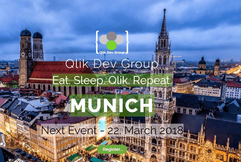 Qlik Dev Group Treffen MünchenQlik Dev Group Treffen München