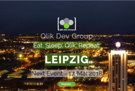 Qlik Dev Group in Leipzig 2018