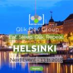Qlik Dev Group Event Helsinki