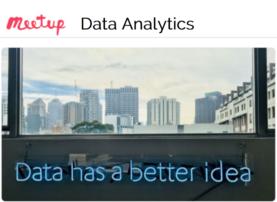 Data Analytics Meetup Gruppe