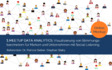 1. Online Meetup Data Analytics: Stimmungsbarometer mit Social Listening
