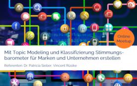 Meetup Data Analytics: Topic Modeling