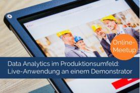 Meetup Data Analytics im Produktionsumfeld